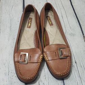 THOM MCAN BROWN LOAFERS 8 Wide